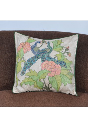 Cushion Cover - Peacock ( Set of Two )